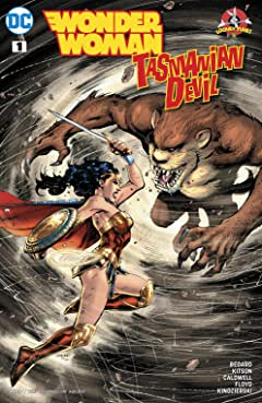 Wonder Woman/Tasmanian Devil Special (2017) #1