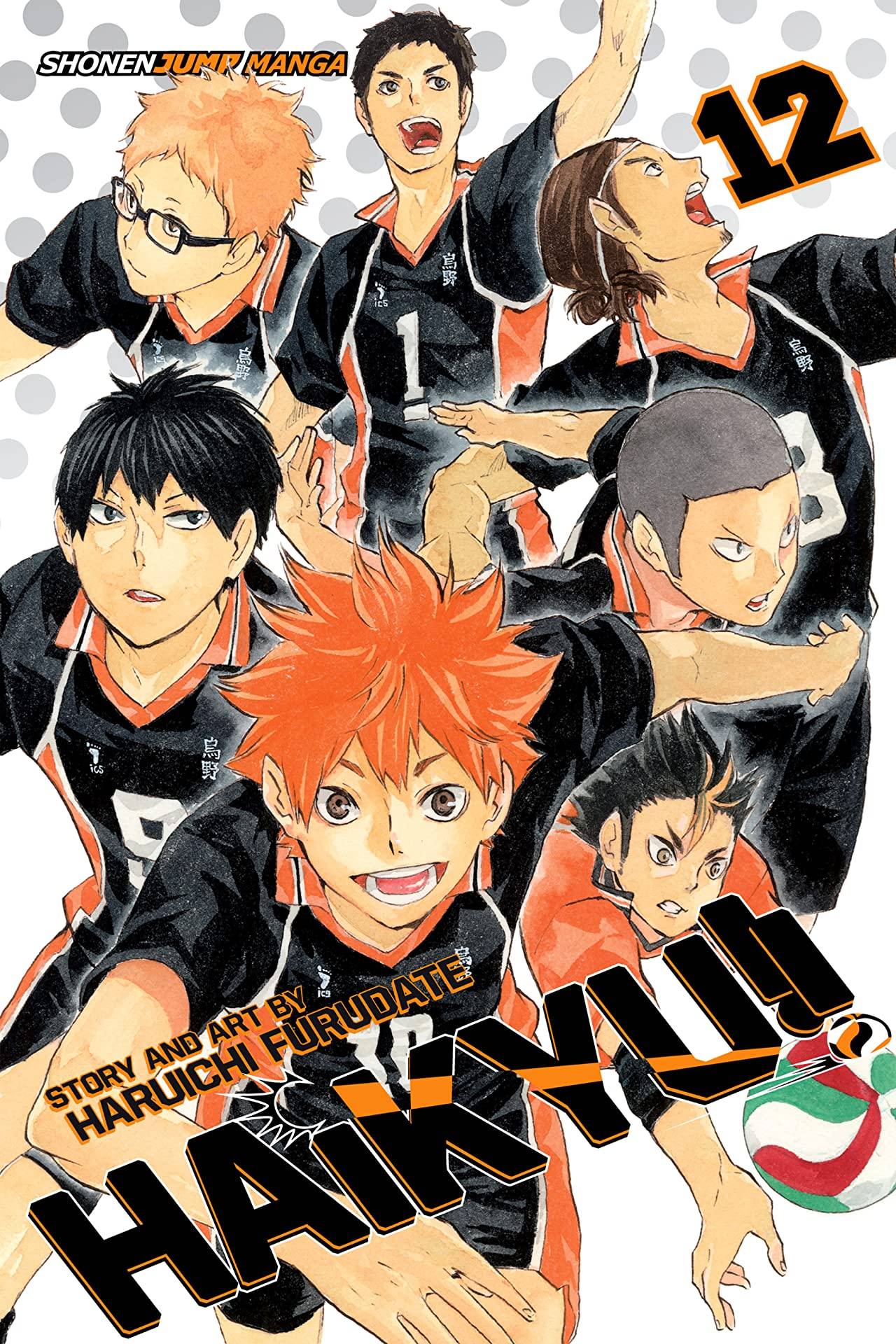 Haikyu!! Vol. 12