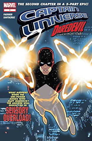 Captain Universe / Daredevil No.1