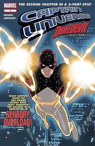 Captain Universe / Daredevil #1