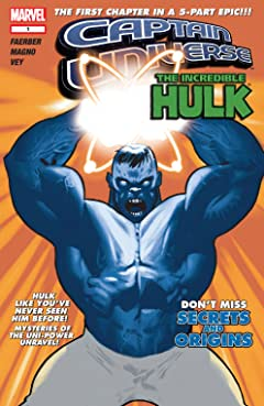 Captain Universe / Incredible Hulk #1