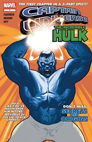 Captain Universe / Incredible Hulk No.1