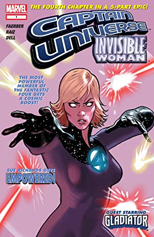 Captain Universe / Invisible Woman No.1