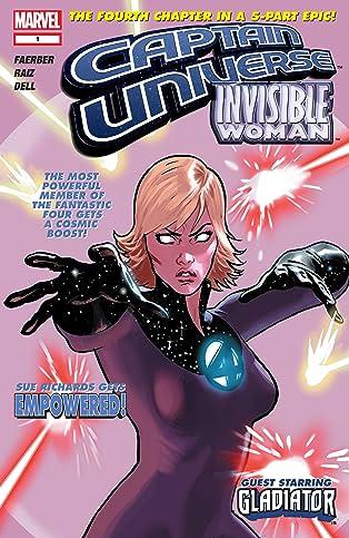 Captain Universe / Invisible Woman #1
