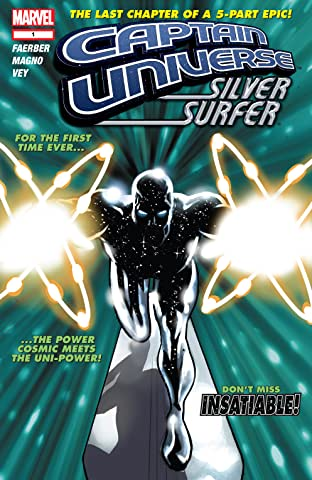 Captain Universe / Silver Surfer No.1