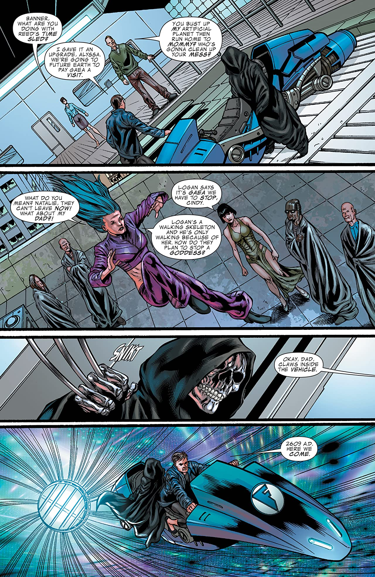 Fantastic Force (2009) #4 (of 4)