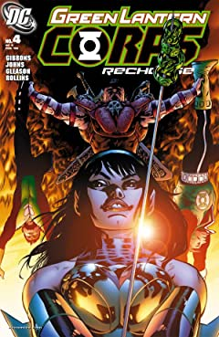 Green Lantern Corps: Recharge No.4 (sur 5)
