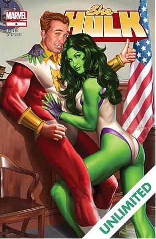 She-Hulk (2005-2009) #6