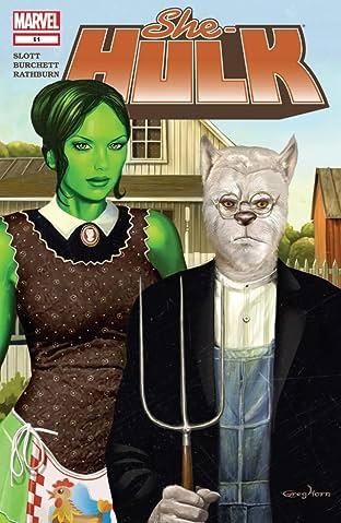 She-Hulk (2005-2009) #11