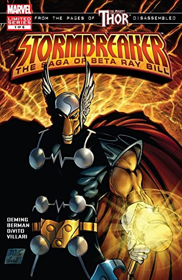Stormbreaker: The Saga Of Beta Ray Bill #1 (of 6)