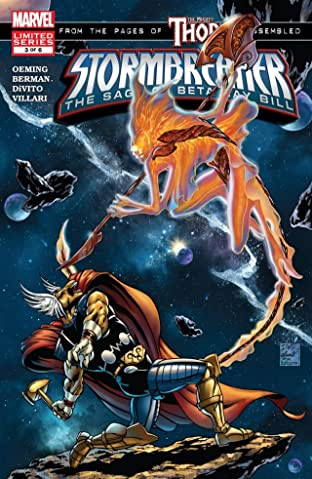 Stormbreaker: The Saga Of Beta Ray Bill #3 (of 6)