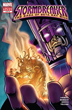 Stormbreaker: The Saga Of Beta Ray Bill #4 (of 6)