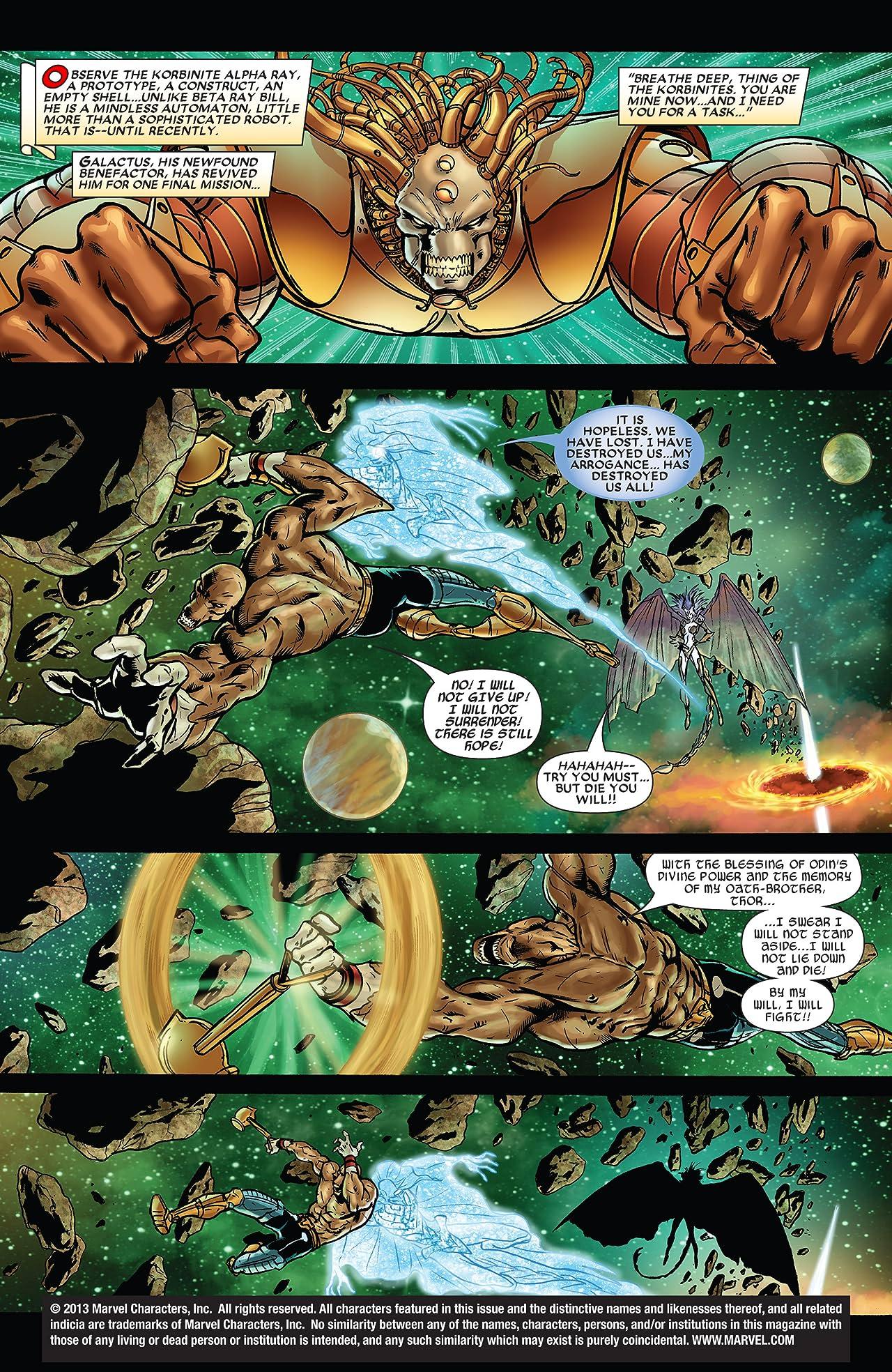 Stormbreaker: The Saga Of Beta Ray Bill #5 (of 6)