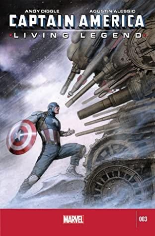 Captain America: Living Legend #3 (of 4)