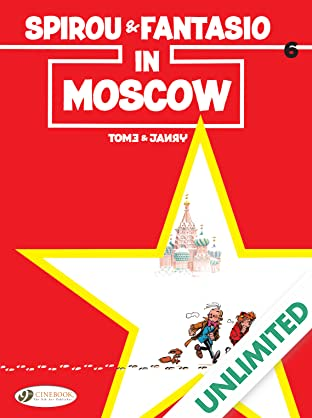 Spirou & Fantasio Vol. 6: In Moscow