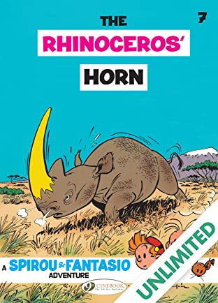 Spirou & Fantasio Vol. 7: The Rhinoceros' Horn
