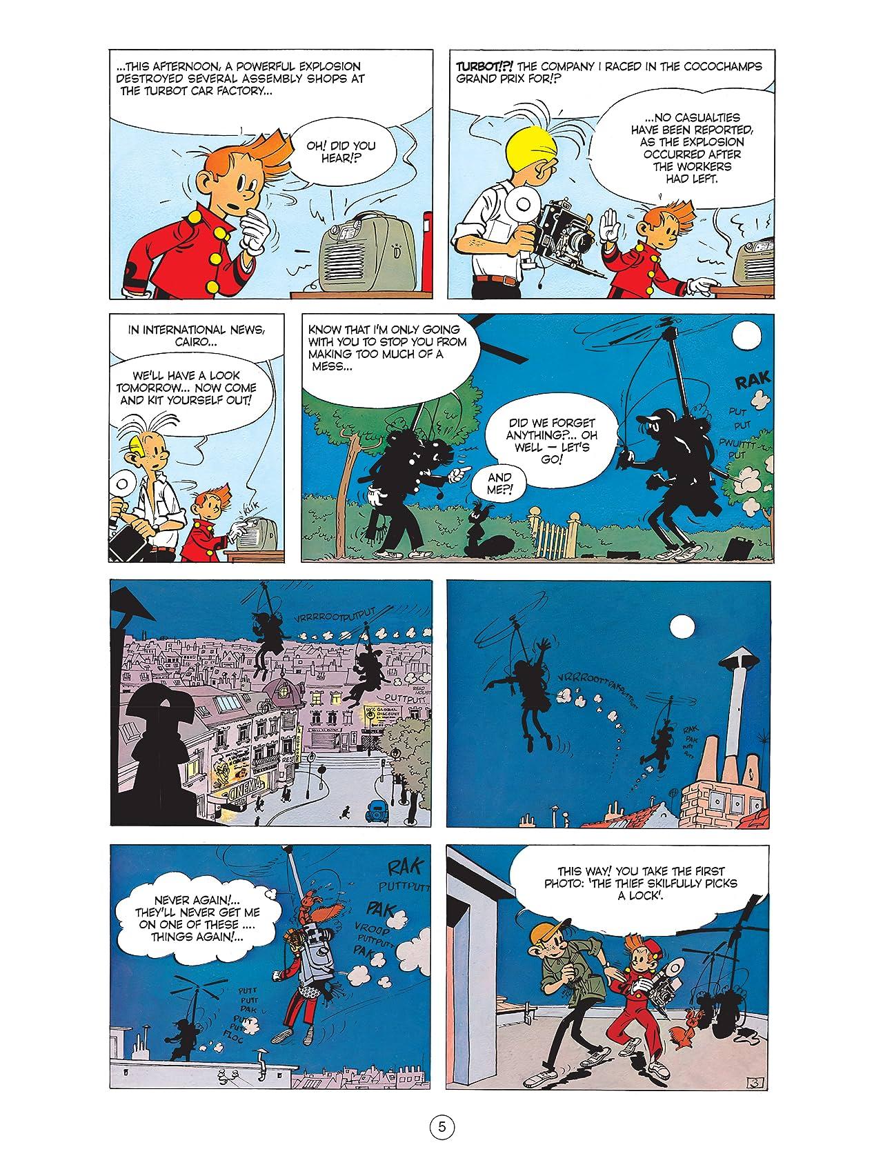 Spirou & Fantasio Vol. 7: The Rhinoceros' Horn