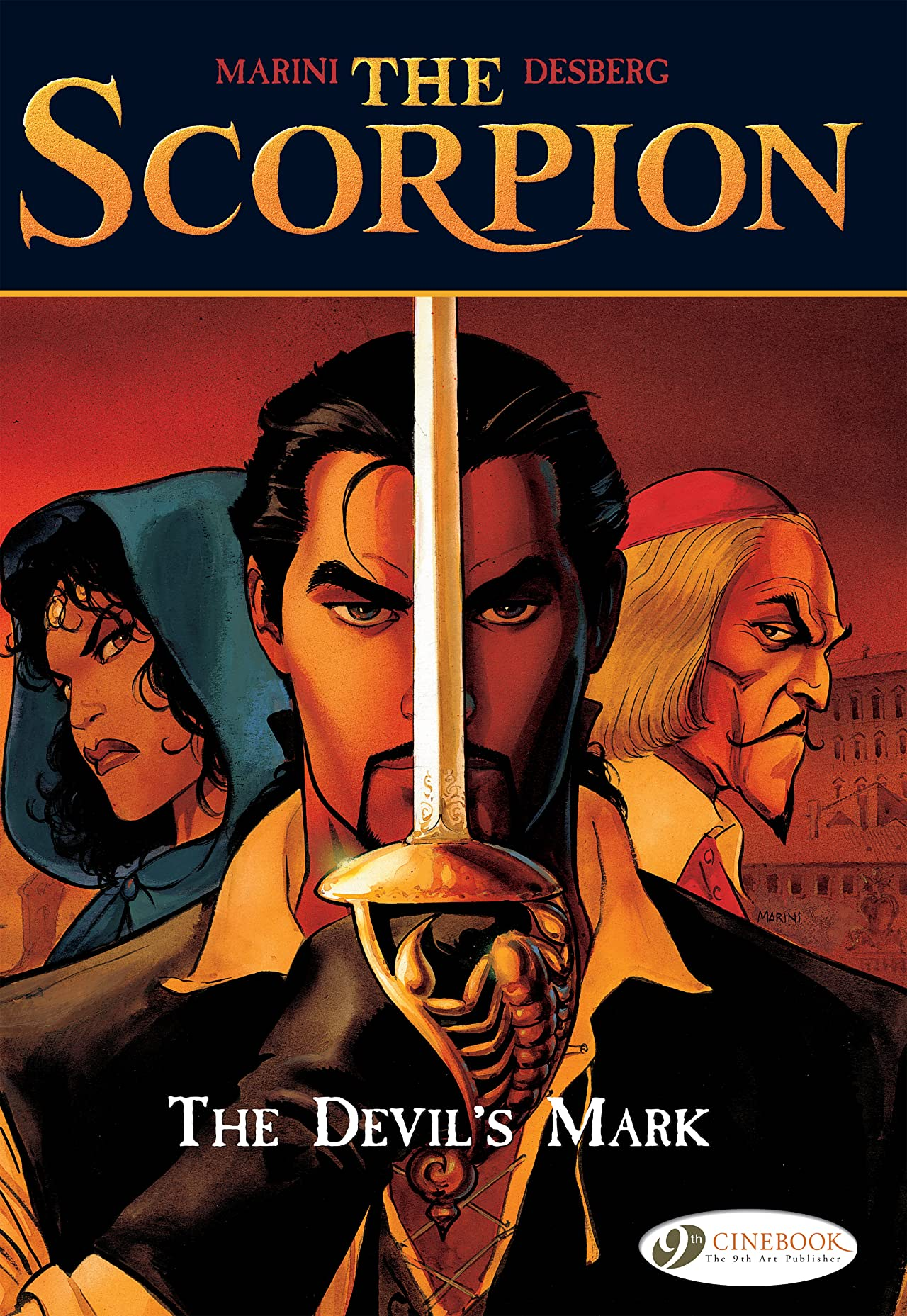 The Scorpion Tome 1: The Devil's Mark