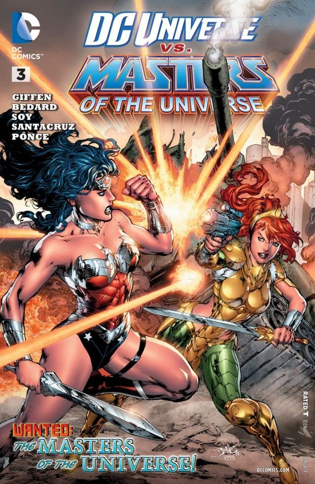 DC Universe vs. The Masters of the Universe (2013) #3 (of 6)