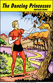 Classics Illustrated Junior #532: The Dancing Princess