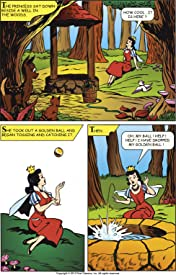 Classics Illustrated Junior #526: The Frog Prince