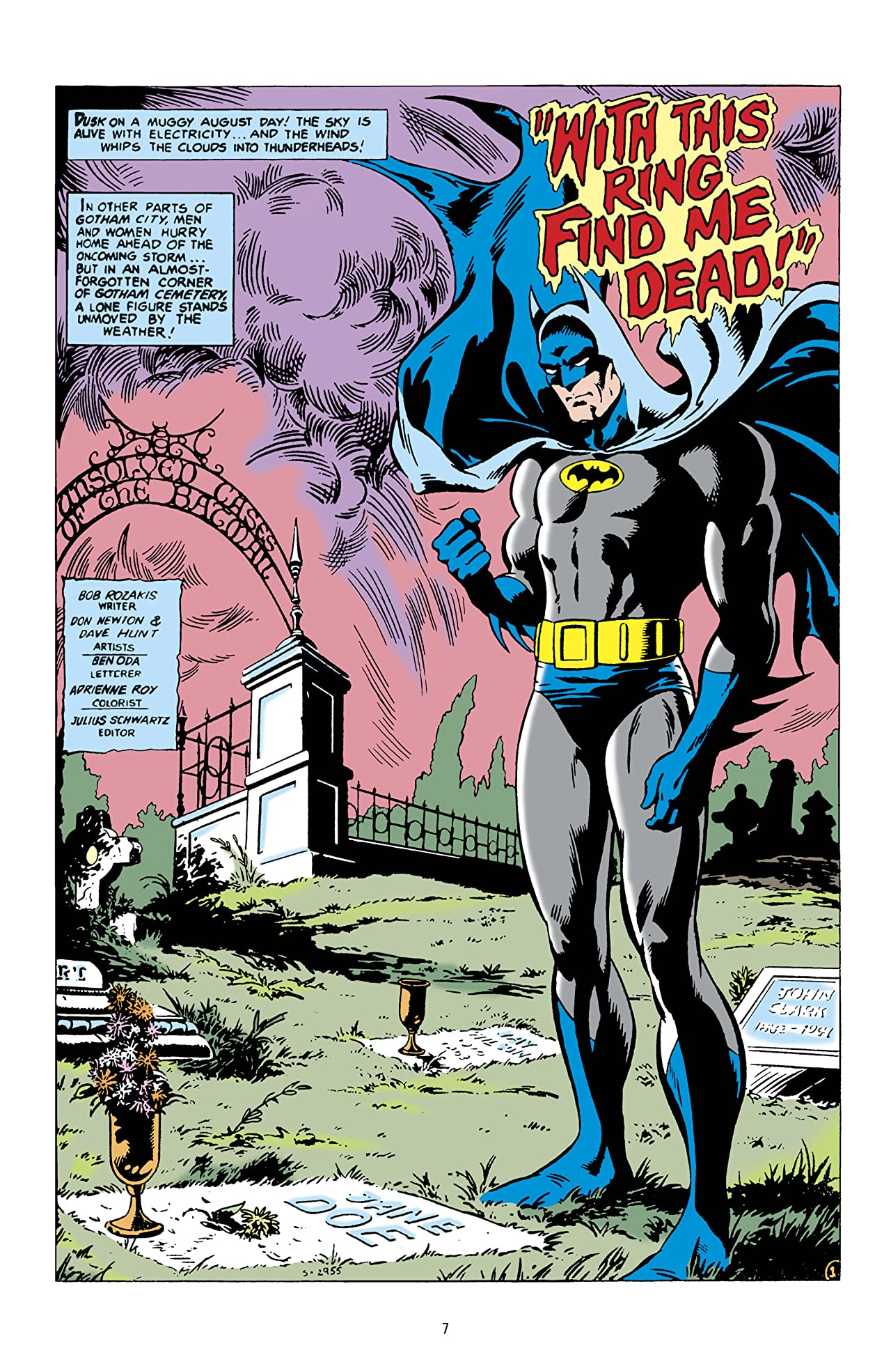 Tales of the Batman: Don Newton