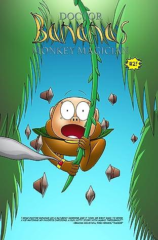 Doctor Bananas: Monkey Magician #2