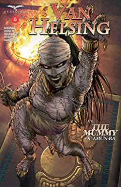 Van Helsing vs. The Mummy of Amun-Ra #5