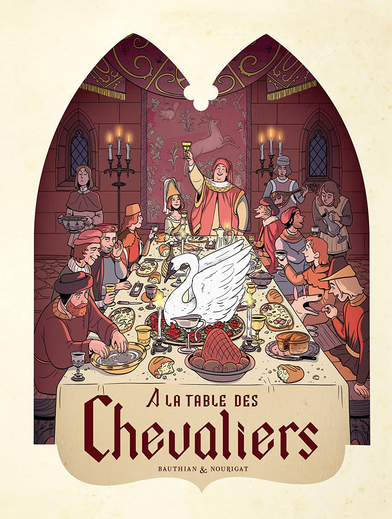 Dans les Cuisines de l'Histoire Vol. 1: À la table des chevaliers
