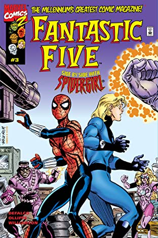 Fantastic Five (1999) #3