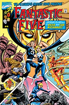 Fantastic Five (1999) #4