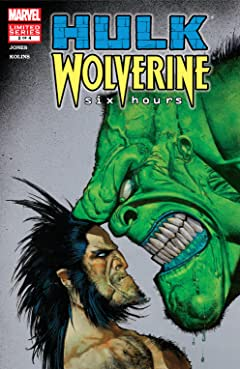 Hulk/Wolverine: 6 Hours (2003) #2 (of 4)