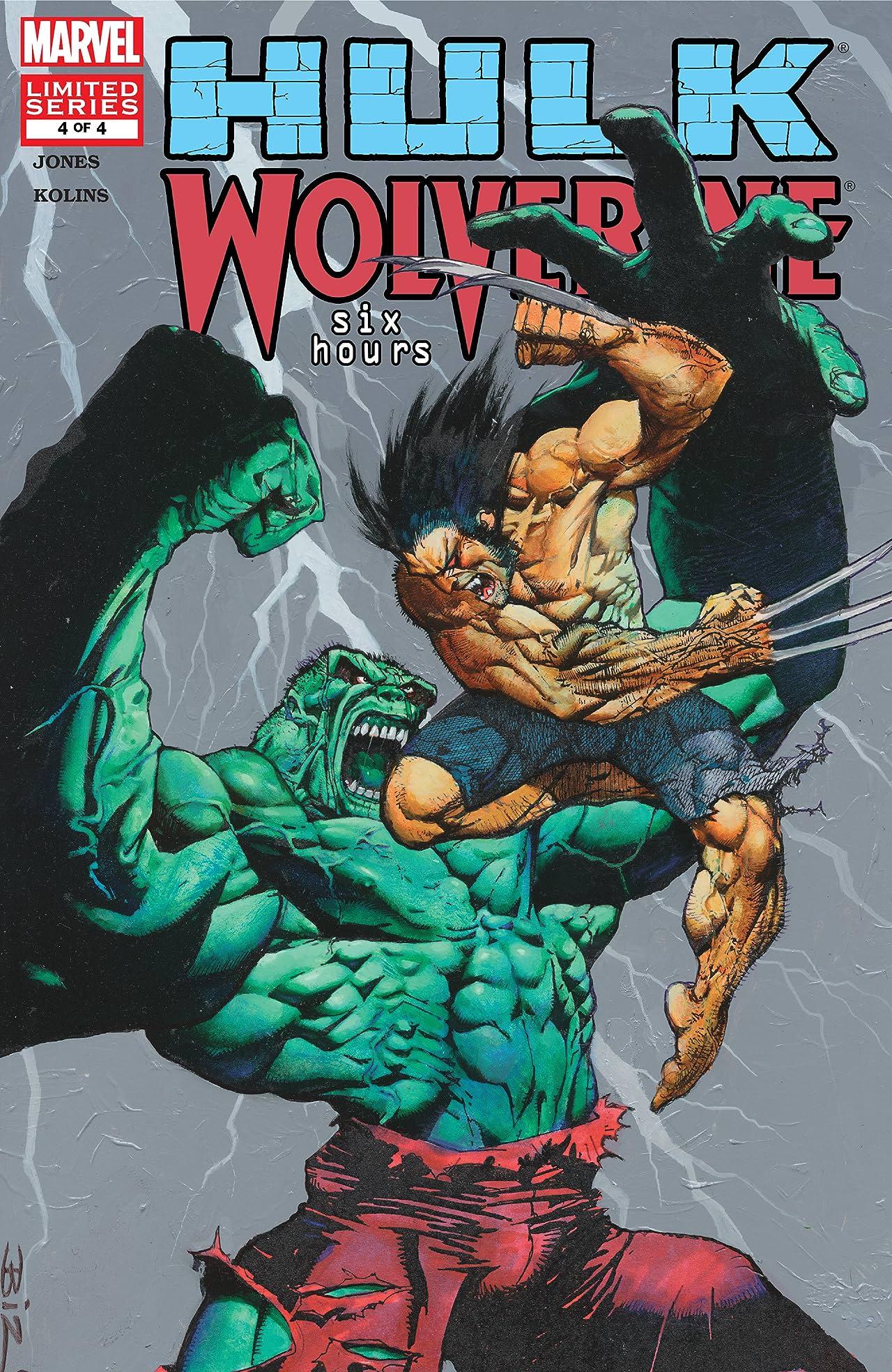 Hulk/Wolverine: 6 Hours (2003) #4 (of 4)