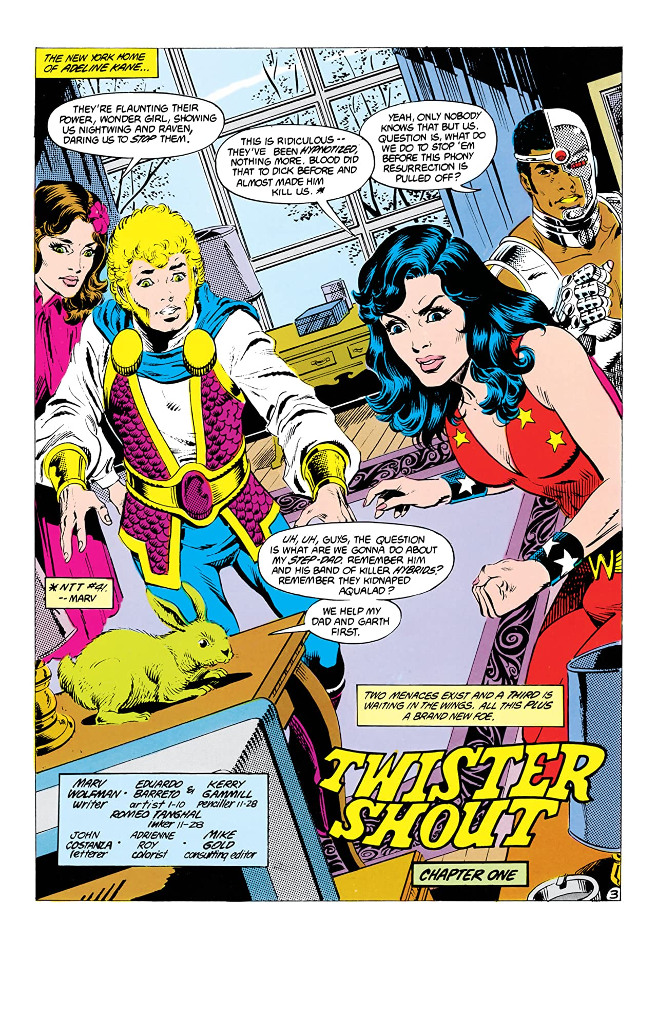 The New Teen Titans (1984-1996) #26