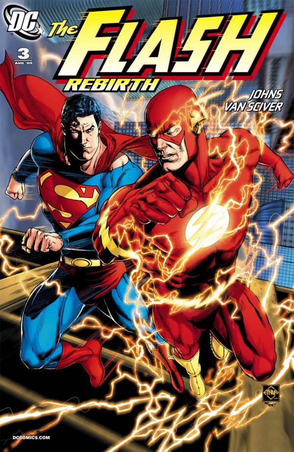 The Flash: Rebirth (2009-2010) #3 (of 6)