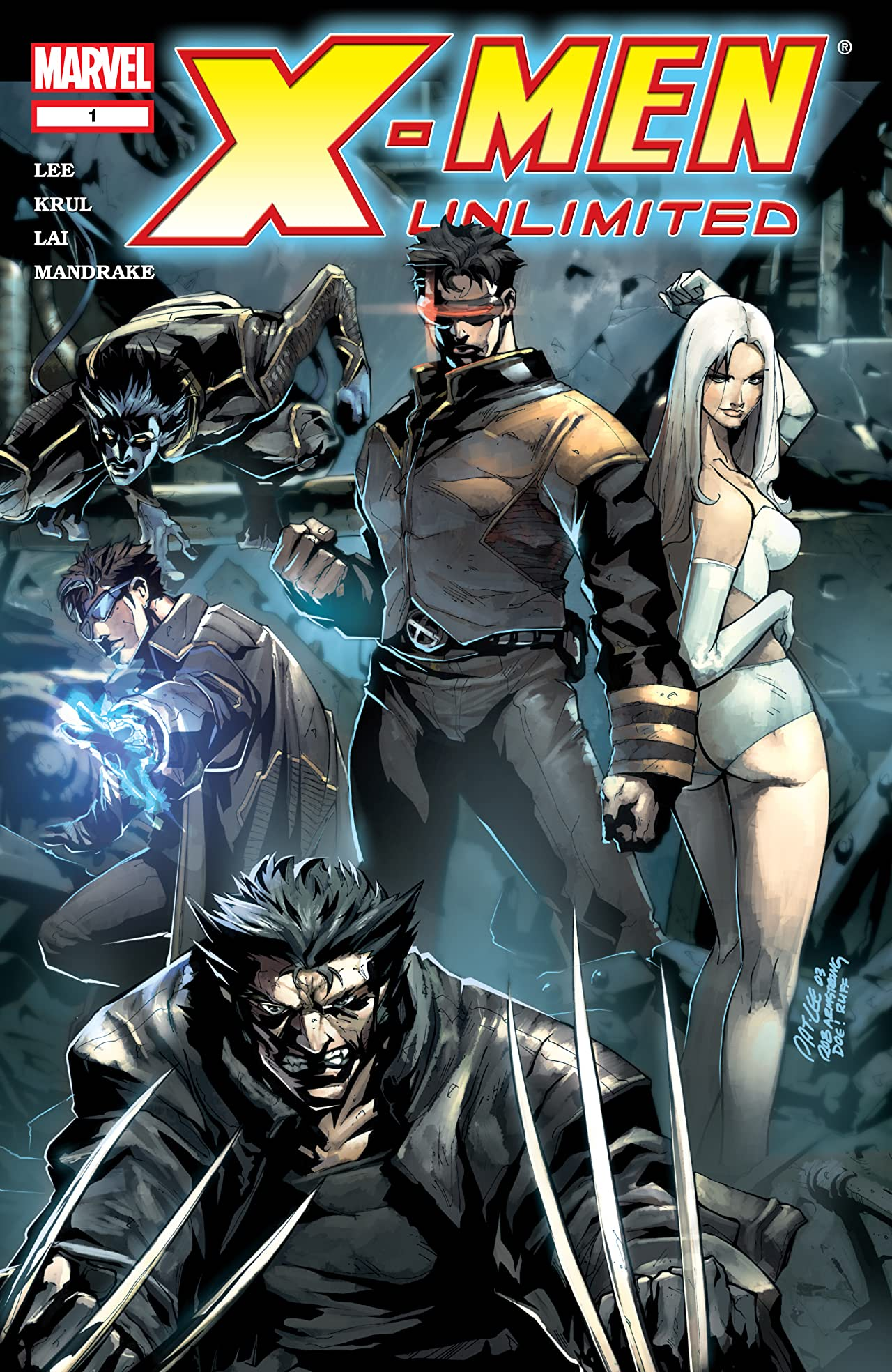 X-Men Unlimited (2004-2006) #1