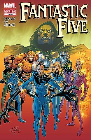 Fantastic Five (2007) No.1 (sur 5)
