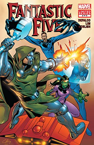 Fantastic Five (2007) #2 (of 5)