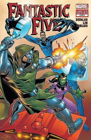 Fantastic Five (2007) No.2 (sur 5)