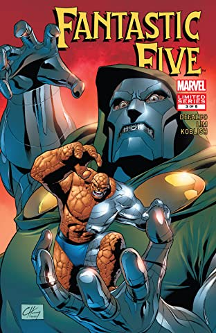 Fantastic Five (2007) #3 (of 5)