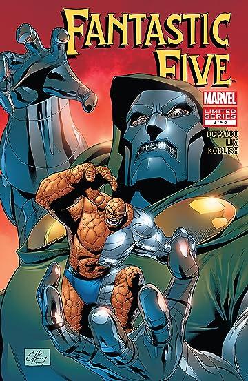 Fantastic Five (2007) #3 (of 5)