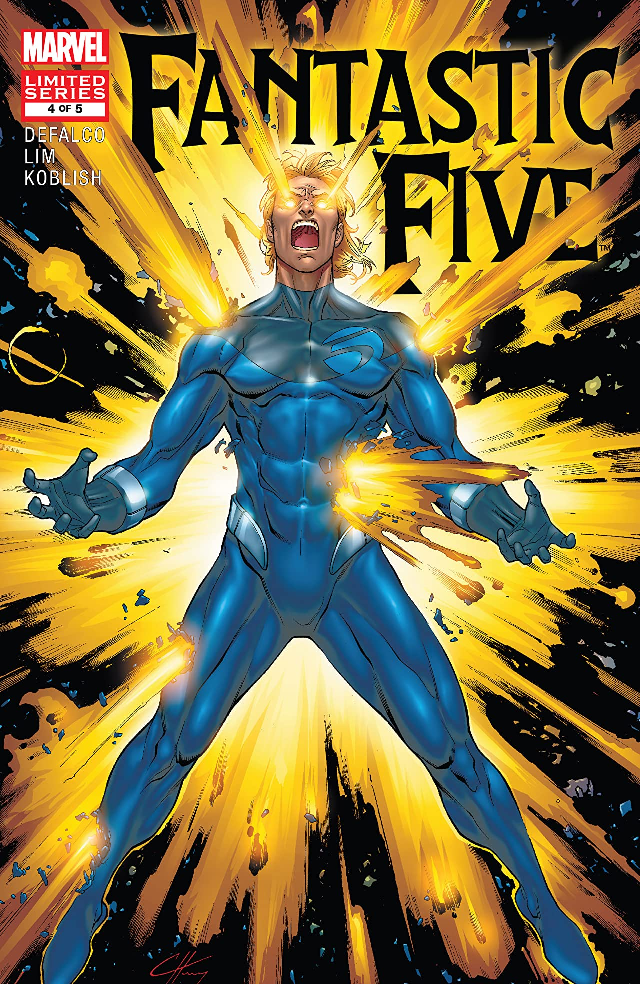 Fantastic Five (2007) #4 (of 5)