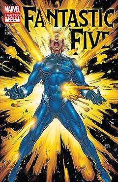 Fantastic Five (2007) #4 (of 5)