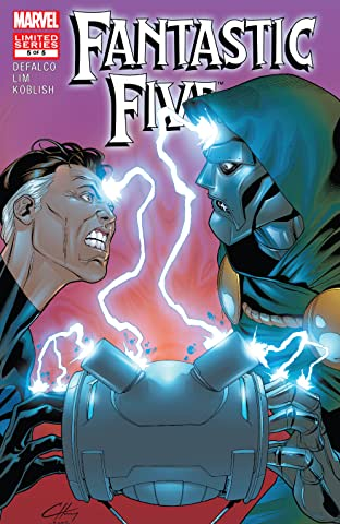Fantastic Five (2007) #5 (of 5)