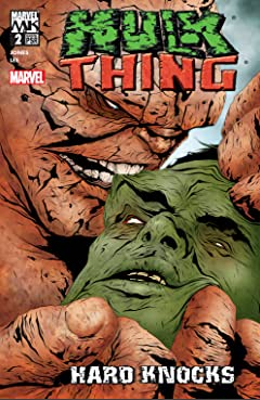 Hulk & Thing: Hard Knocks (2004) #2 (of 4)