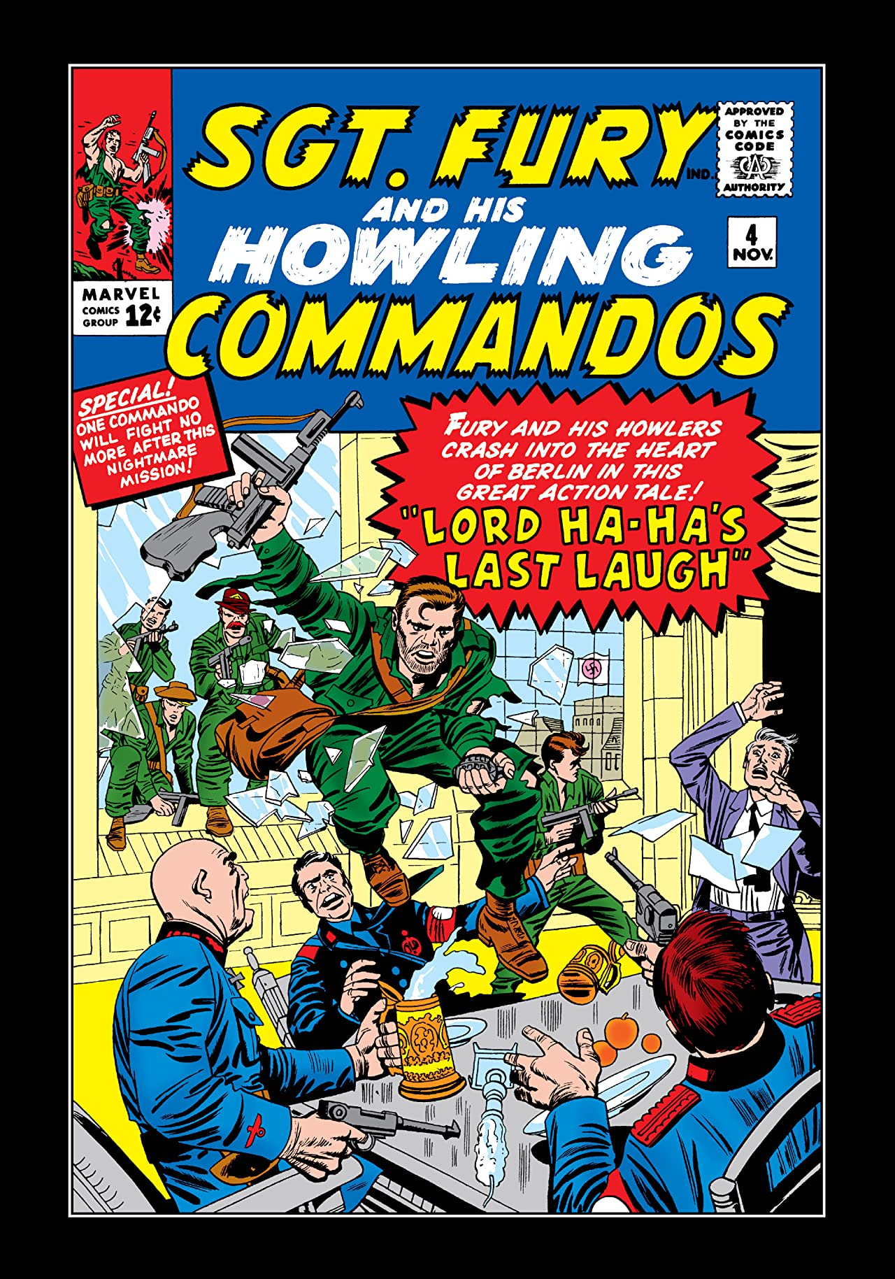 Sgt. Fury and His Howling Commandos (1963-1974) #4