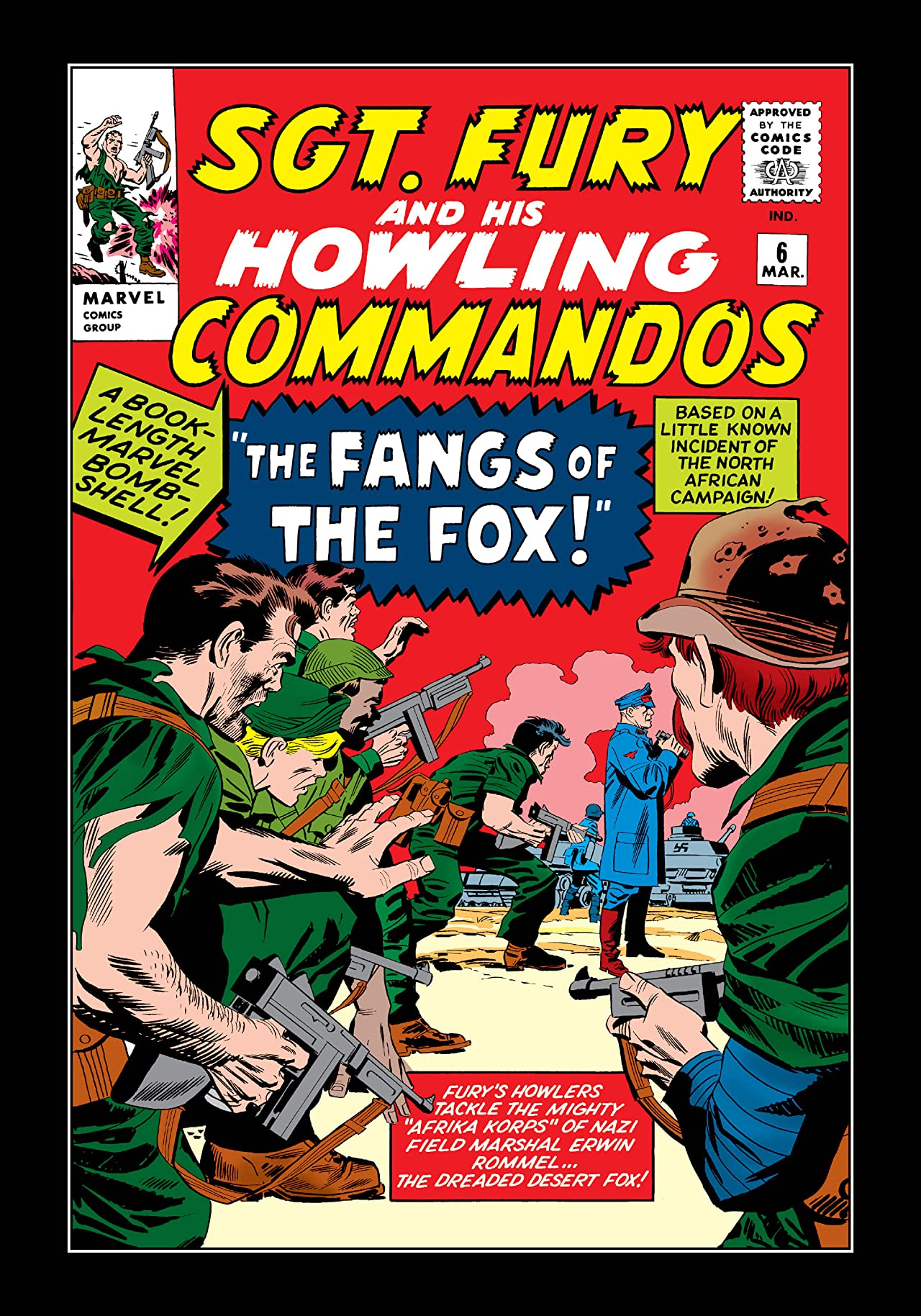 Sgt. Fury and His Howling Commandos (1963-1974) #6