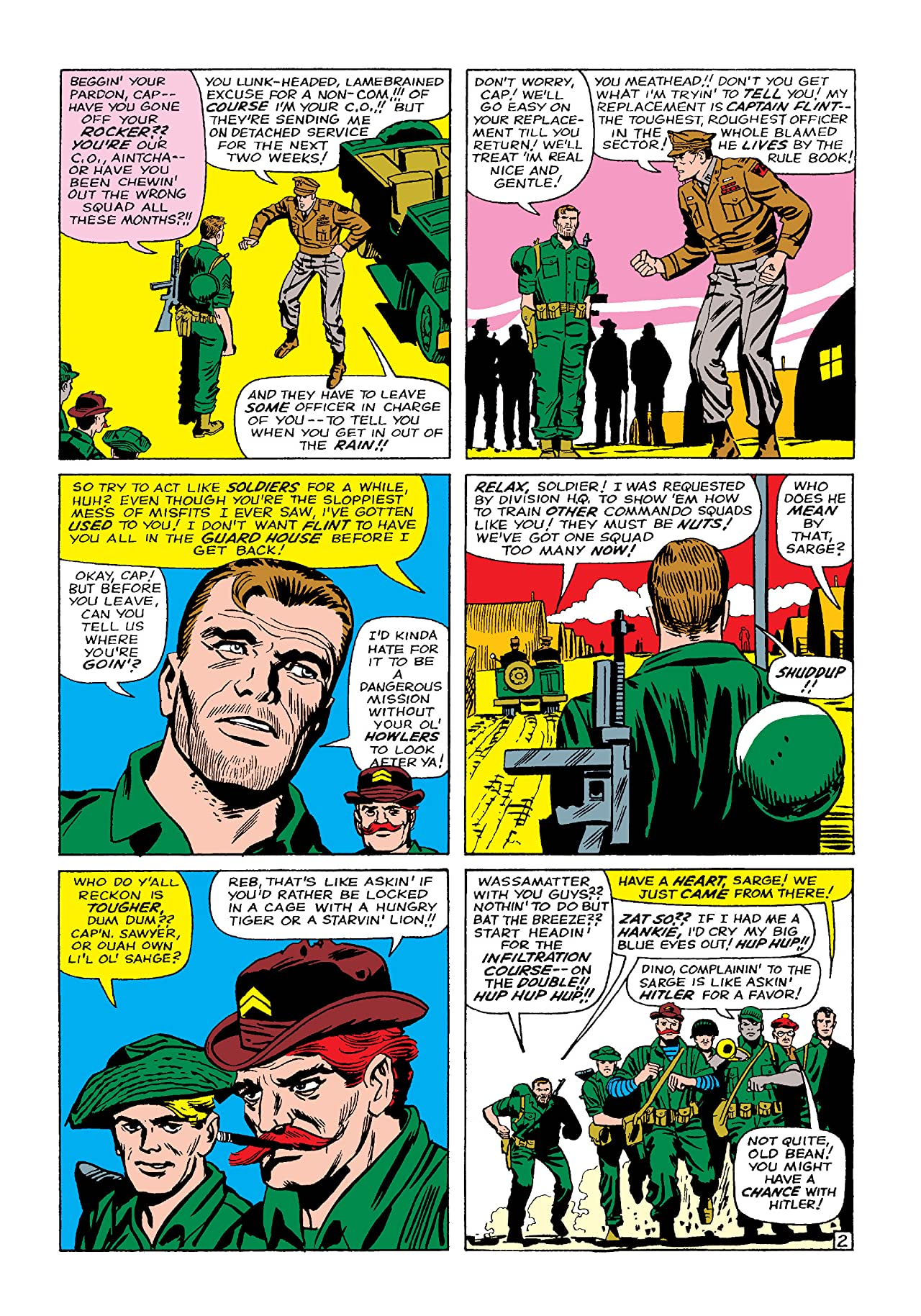 Sgt. Fury and His Howling Commandos (1963-1974) #11