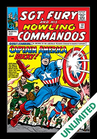 Sgt. Fury and His Howling Commandos (1963-1974) #13