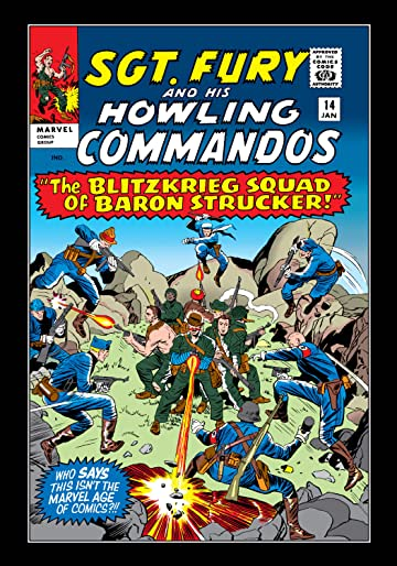 Sgt. Fury and His Howling Commandos (1963-1974) #14